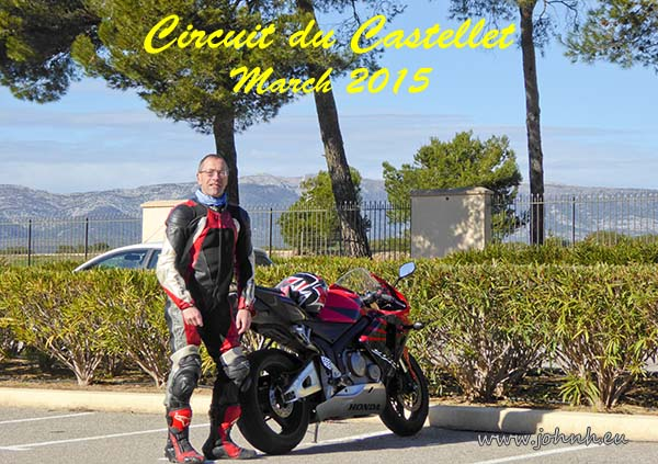 Coffee stop at the Circuit du Castellet near Toulon and Marseille