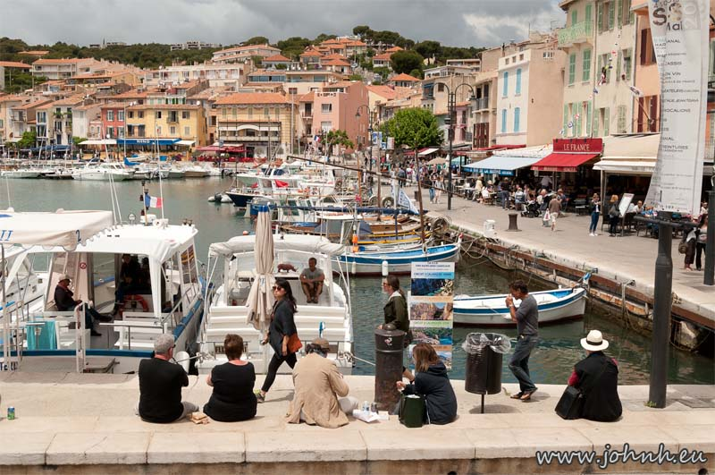 Picnic lunches in Cassis