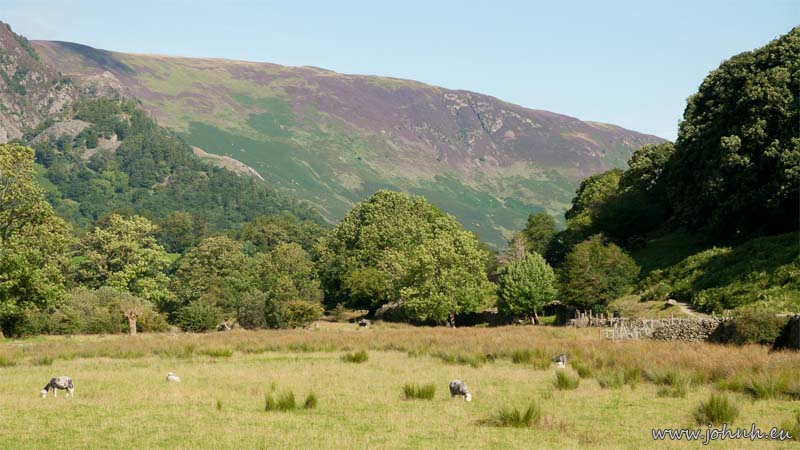 A sunny day in Borrowdale