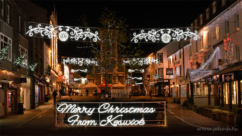 Keswick Christmas lights 2016