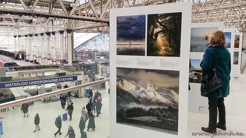 Take a View - Landscape Photographer of the Year at London Waterloo