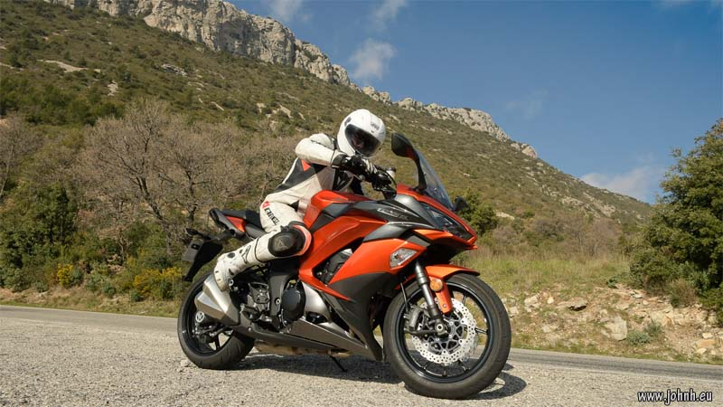 Test ride: Z1000SX (2017) on the Col de l'Espigoulier