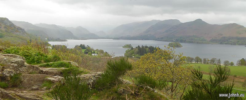 Derwent Water from Castlehead, Cumbria