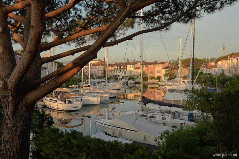 Dawn at Port Grimaud
