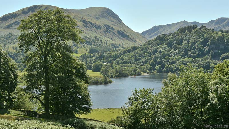 Ullswater, with Patterdale Old Hall, 2017