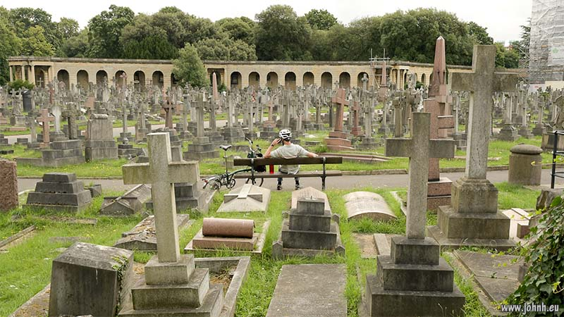 Brompton Cemetery, West London