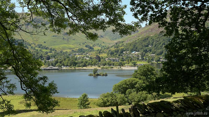 Ullswater, with Glenridding