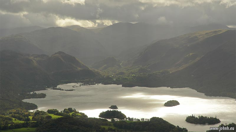 Derwent Water from Skiddaw Little Man