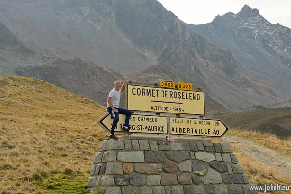 At the Cormet de Roseland