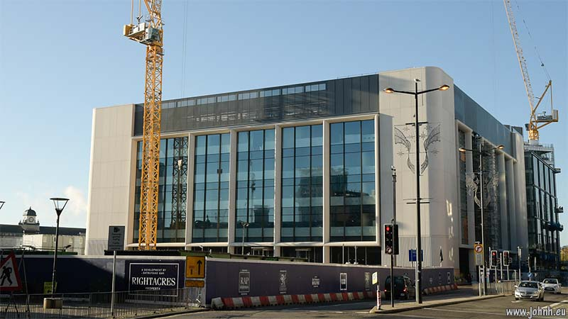 BBC Wales new headquarters in Cardiff