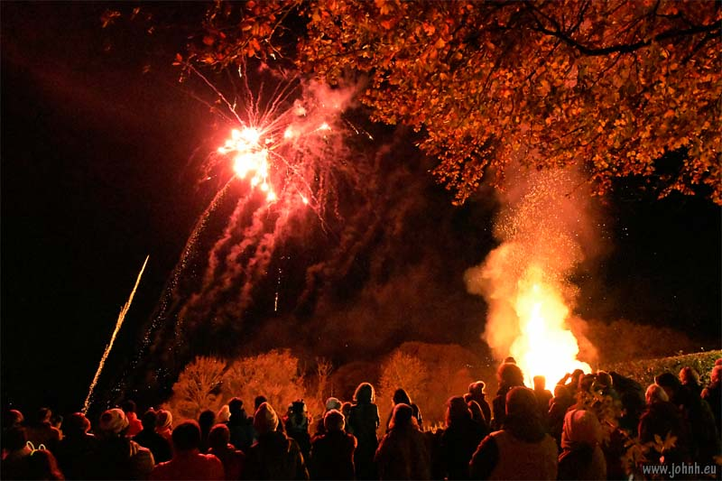 Underskiddaw Bonfire and Fireworks