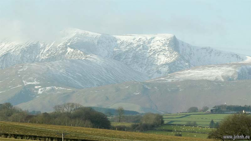 Blencathra viewed from Stainton