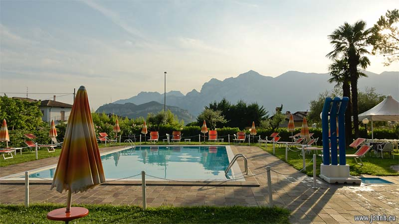 Pool at Riva del Garda