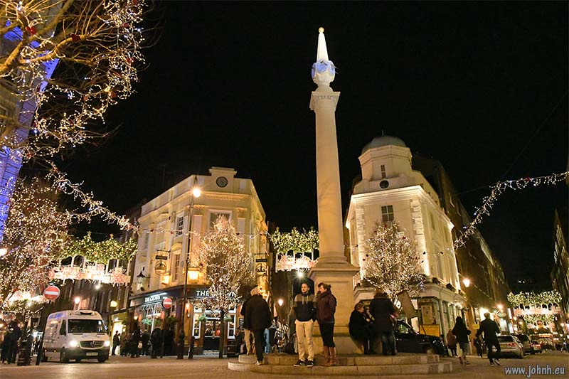 Twelfth Night in Seven Dials, London