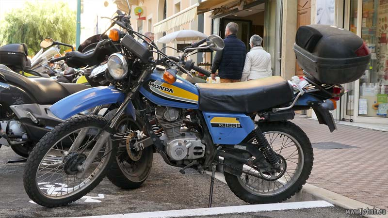 Honda XL125 motorcycle