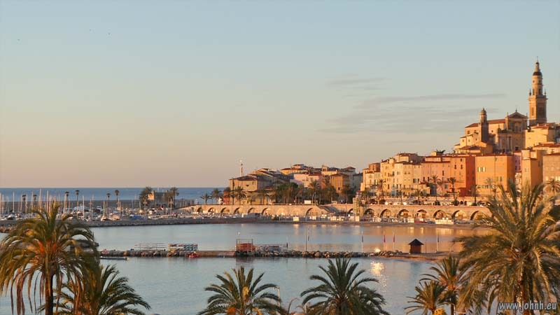 Dawn at Menton Veille Ville