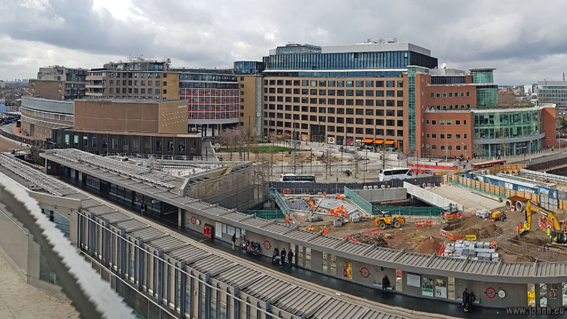 Television Centre from the Westfield Extension