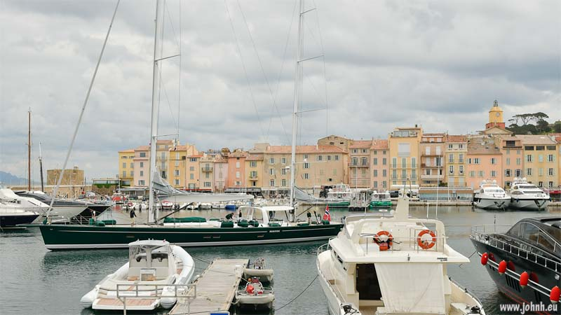 Leaving the port of St.Tropez