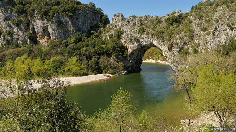 Pont d'Arc and Ardèche river