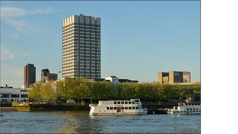 LWT building at Kings Reach on London's South Bank