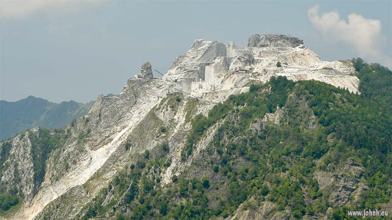 Marble mountain, Carrara