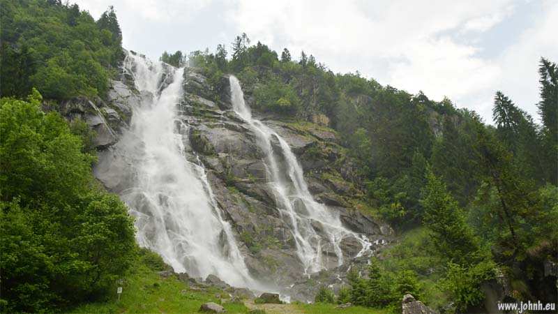 Waterfalls in Val Genova, Trentino