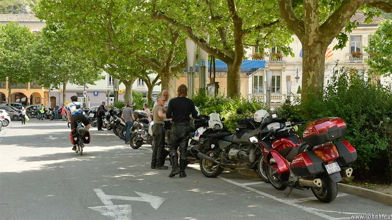 Bikes at Castellane