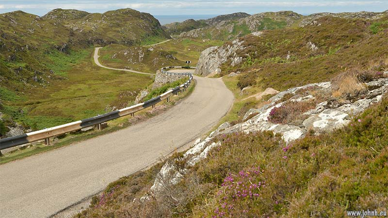 Assynt coastal road