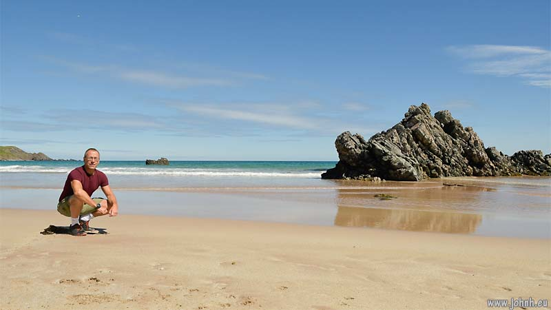 On the beach at Durness, NW Scotland