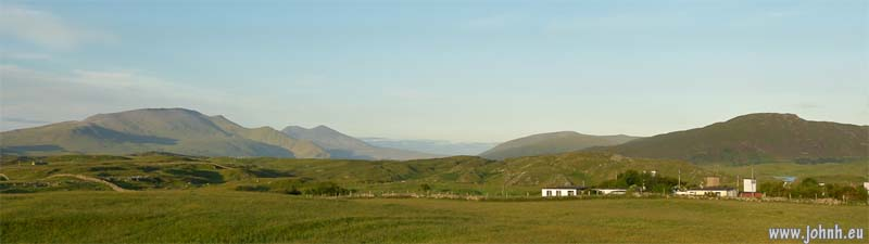 View inland from Durness