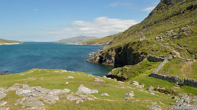 Coat path at Hushinish, North Harris, Outer Hebrides