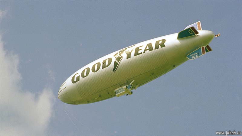 Goodyear Blimp at the 1979 Silverstone British Grand Prix