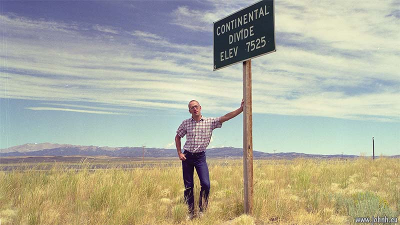 Continental Divide, near South Pass City, Wyoming