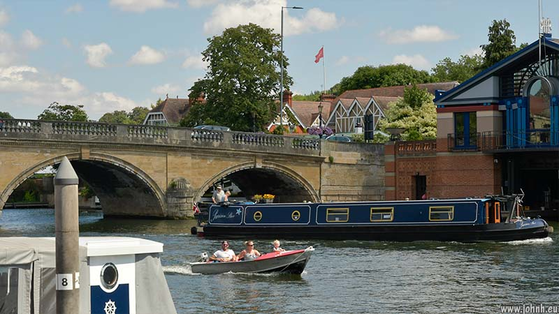 Bridge over the Thames at Henley