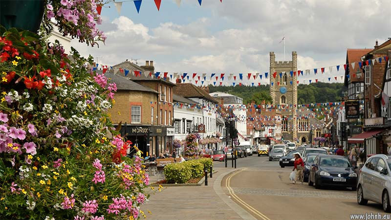 Henley on Thames main street