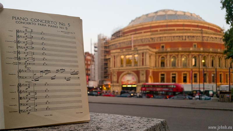 Beethoven's 'Emperor' Concerto at the Royal Albert Hall
