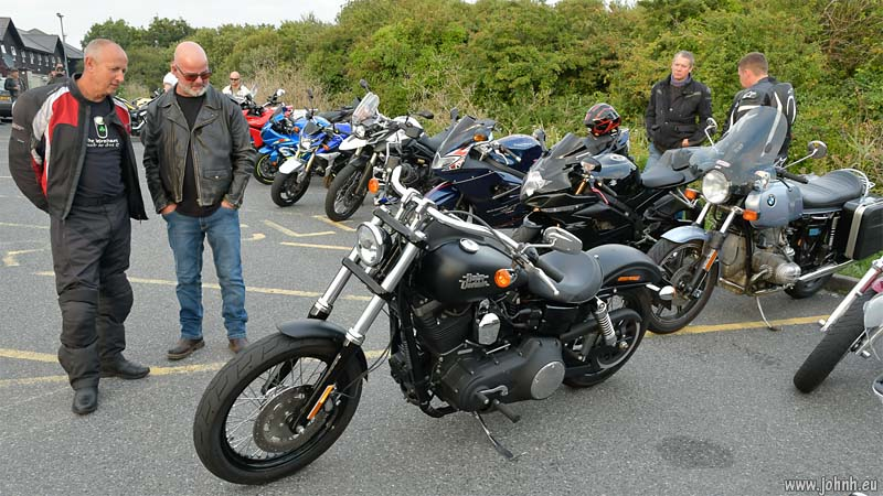 Hayle bike meet, West Cornwall