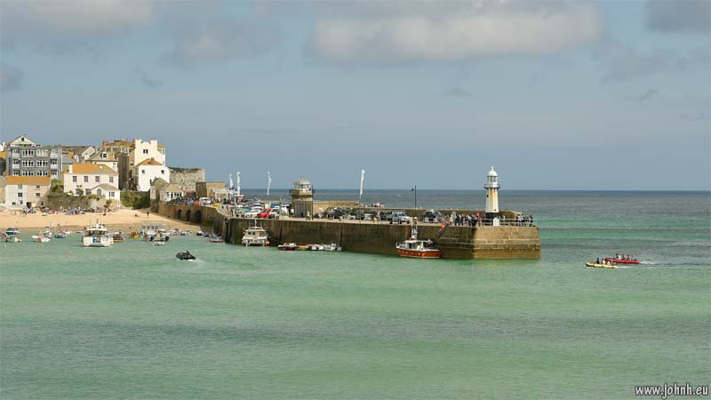 St. Ives harbour, Cornwall