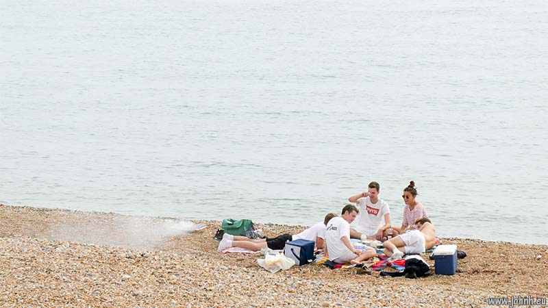 Seaford beach barbecue