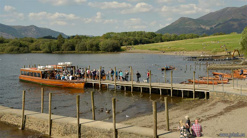 Launches on Derwent Water, Keswick
