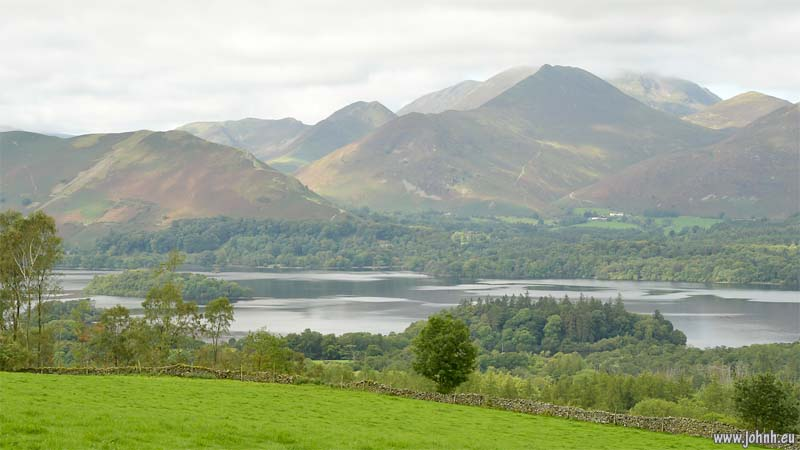 Derwent Water, early morning,seen from Castlerigg Fell
