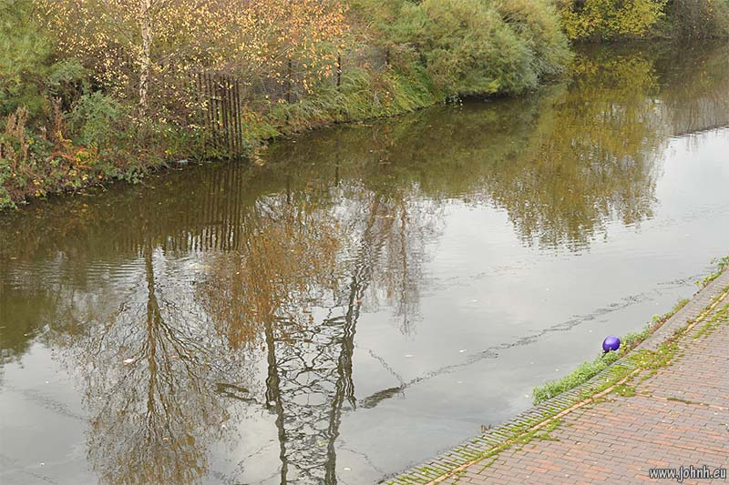 The Birmingham Canal at Sandwell