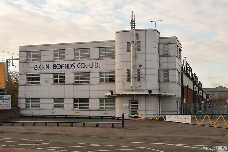 Art deco architecture, Sandwell