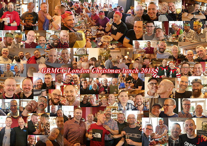 GBMCC London Christmas lunch 2018 - my montage