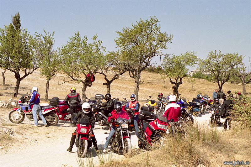 Alpilles tour, GLME Summercamp 98 in Provence, organised by AMA