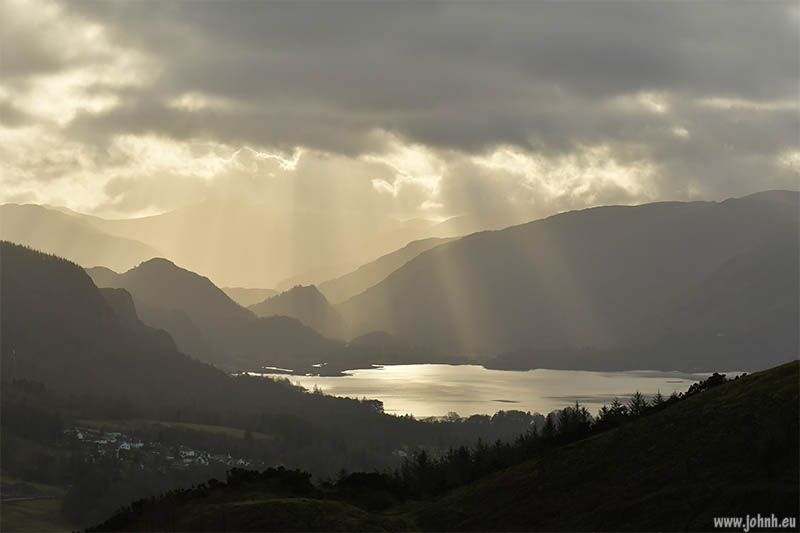 Keswick and Derwent Water, The Lake District, Cumbria