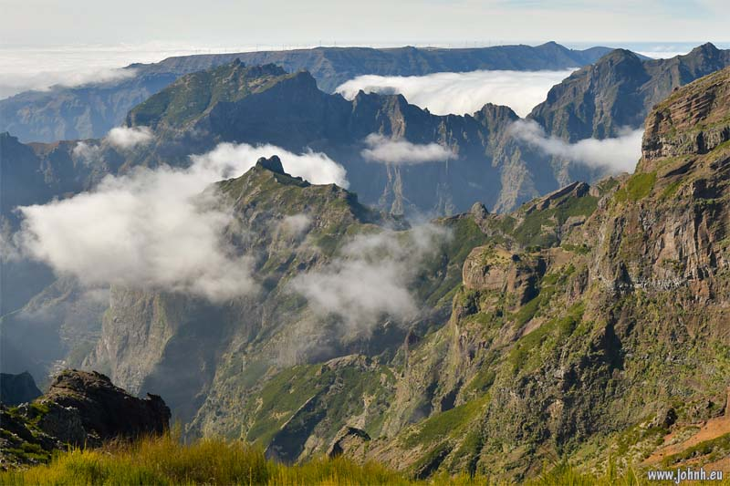 View from the Pico do Arieiro