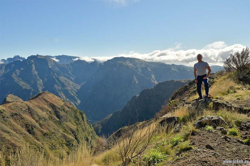 Clear view over Serre de Agua, Madeira