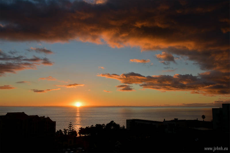 Funchal sunset