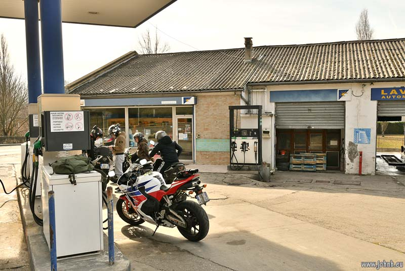 Filling station, Pertuis, Vaucluse, Provence